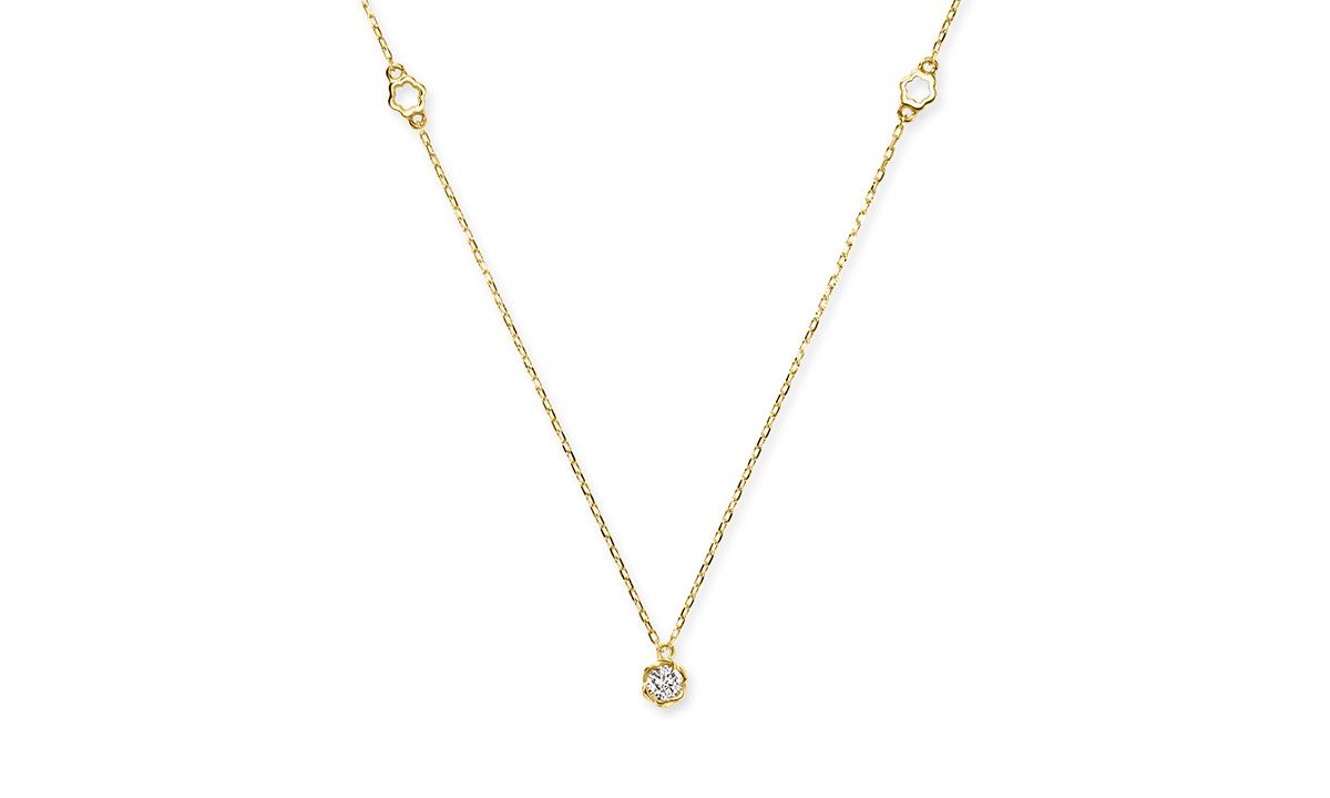 ファーストフローラ(ロゴ)ネックレス