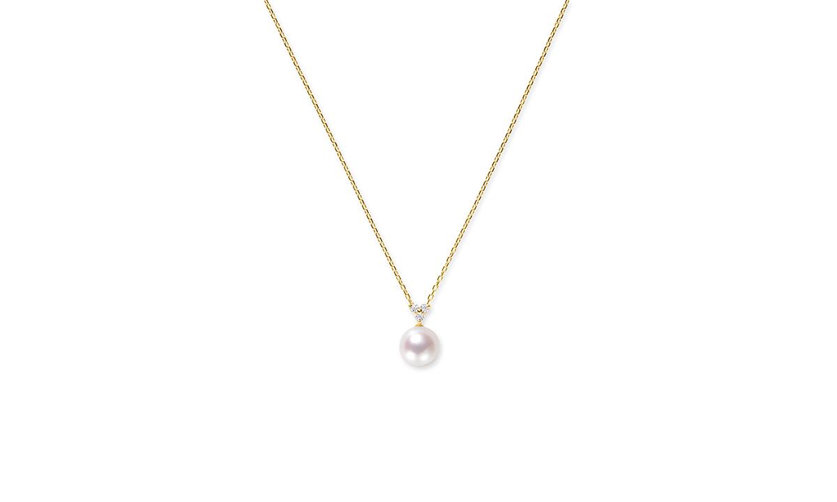 ぺルラ(ダイヤモンド)ネックレス