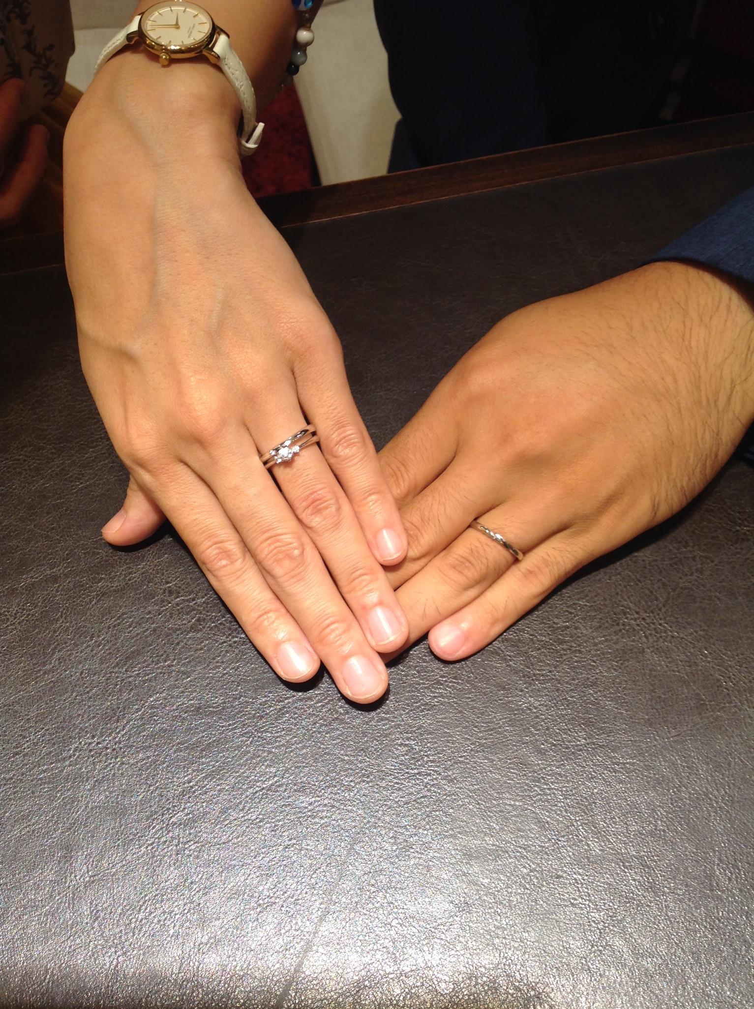 指輪のできあがりが楽しみです^^のイメージ
