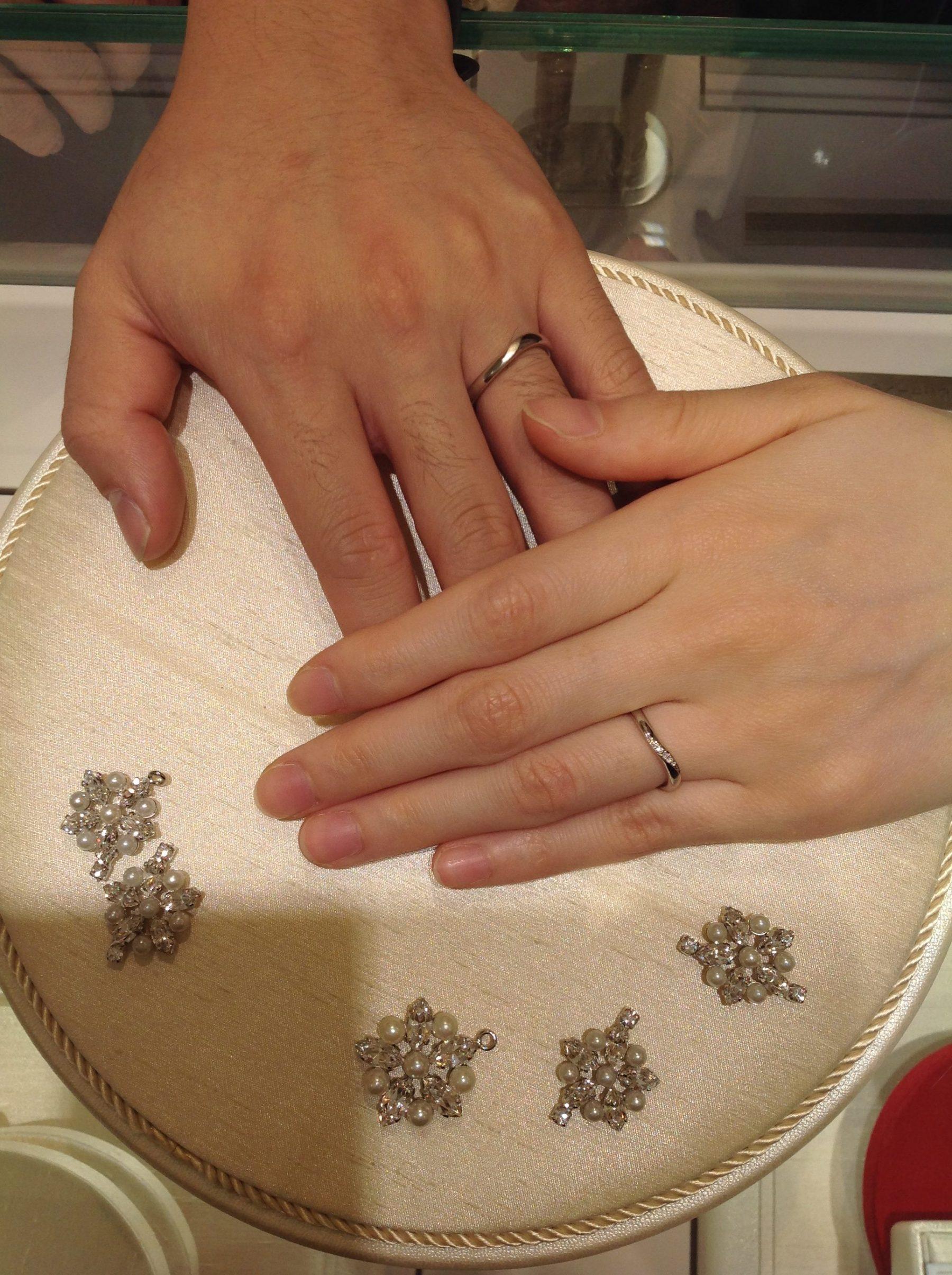素敵な指輪を見つけることができましたのイメージ