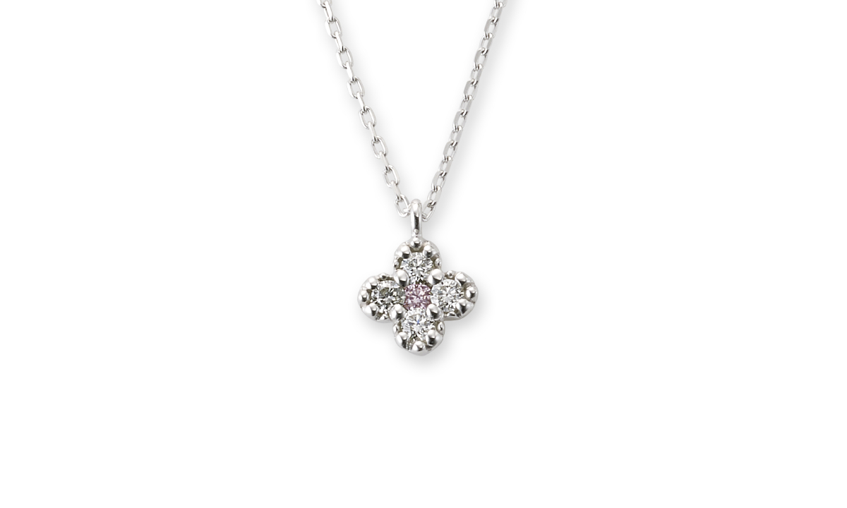 ジャルディーノ(ピンクダイヤモンド) ネックレス