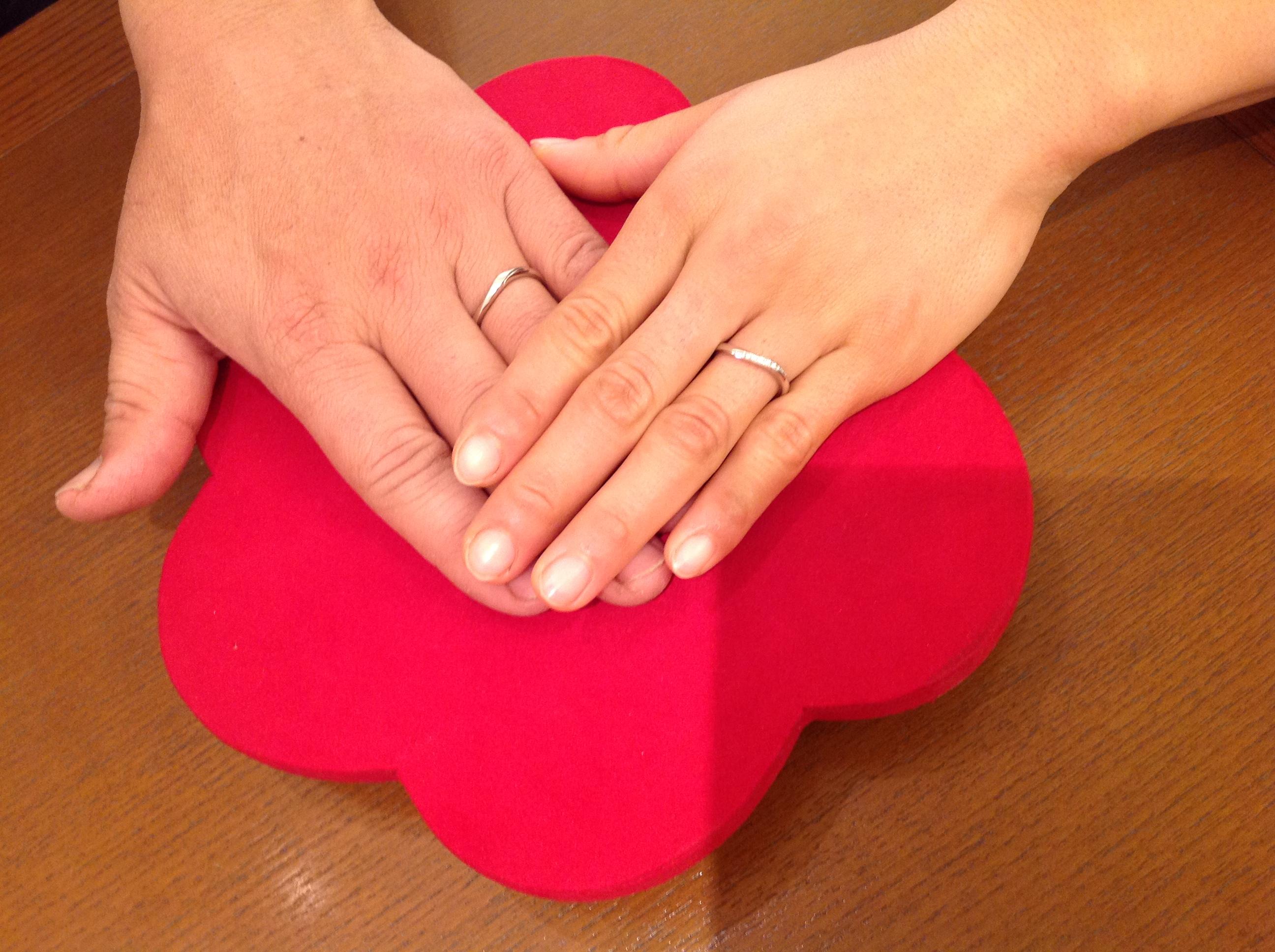素敵な指輪が見つかりました。のイメージ