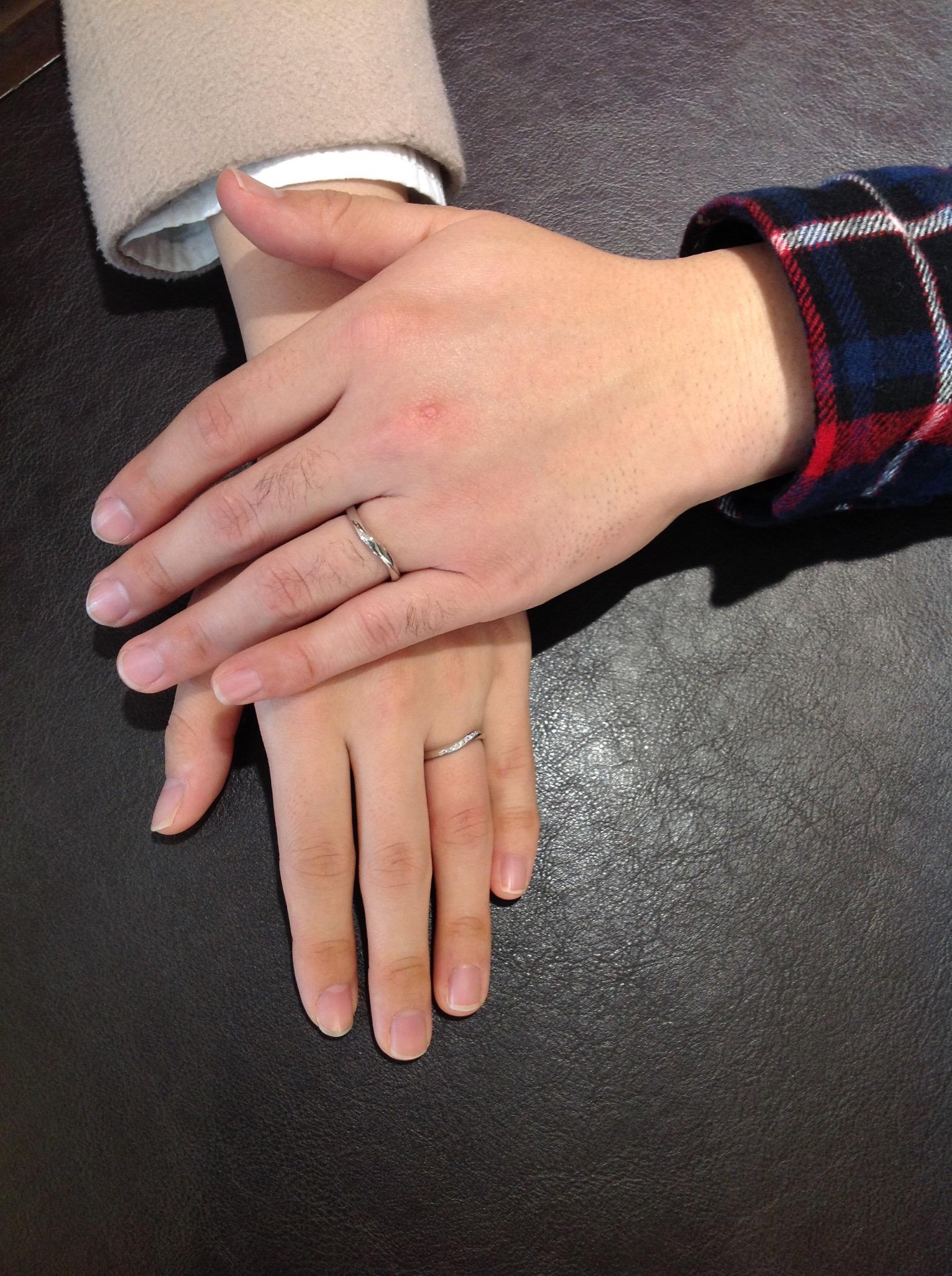 ステキな指輪にめぐり会うことができましたのイメージ