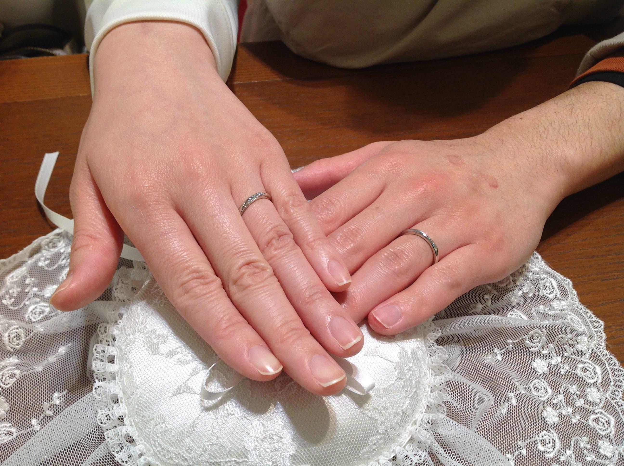 素敵な指輪に決まりました♪のイメージ