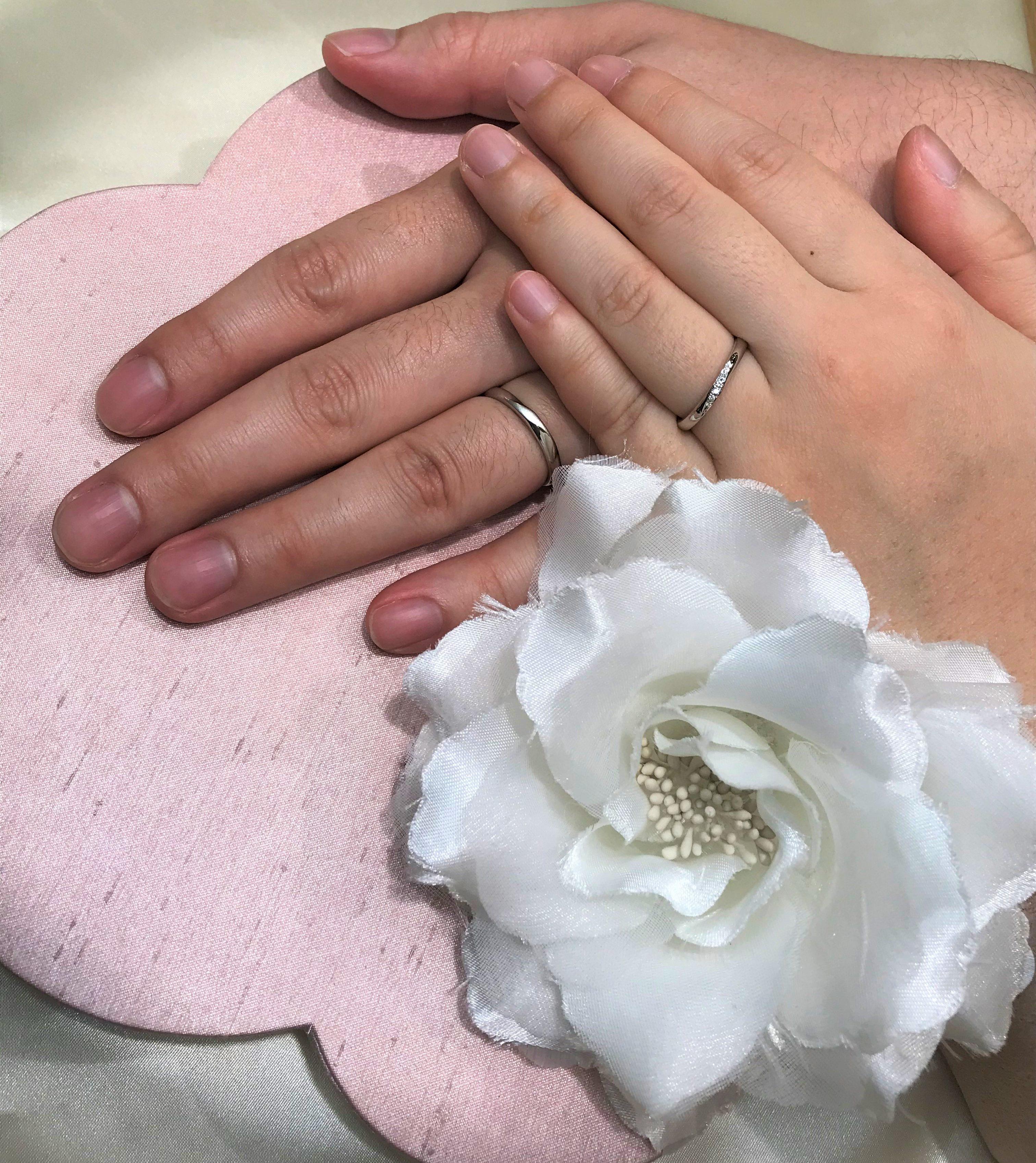 楽しい指輪選び♪のイメージ