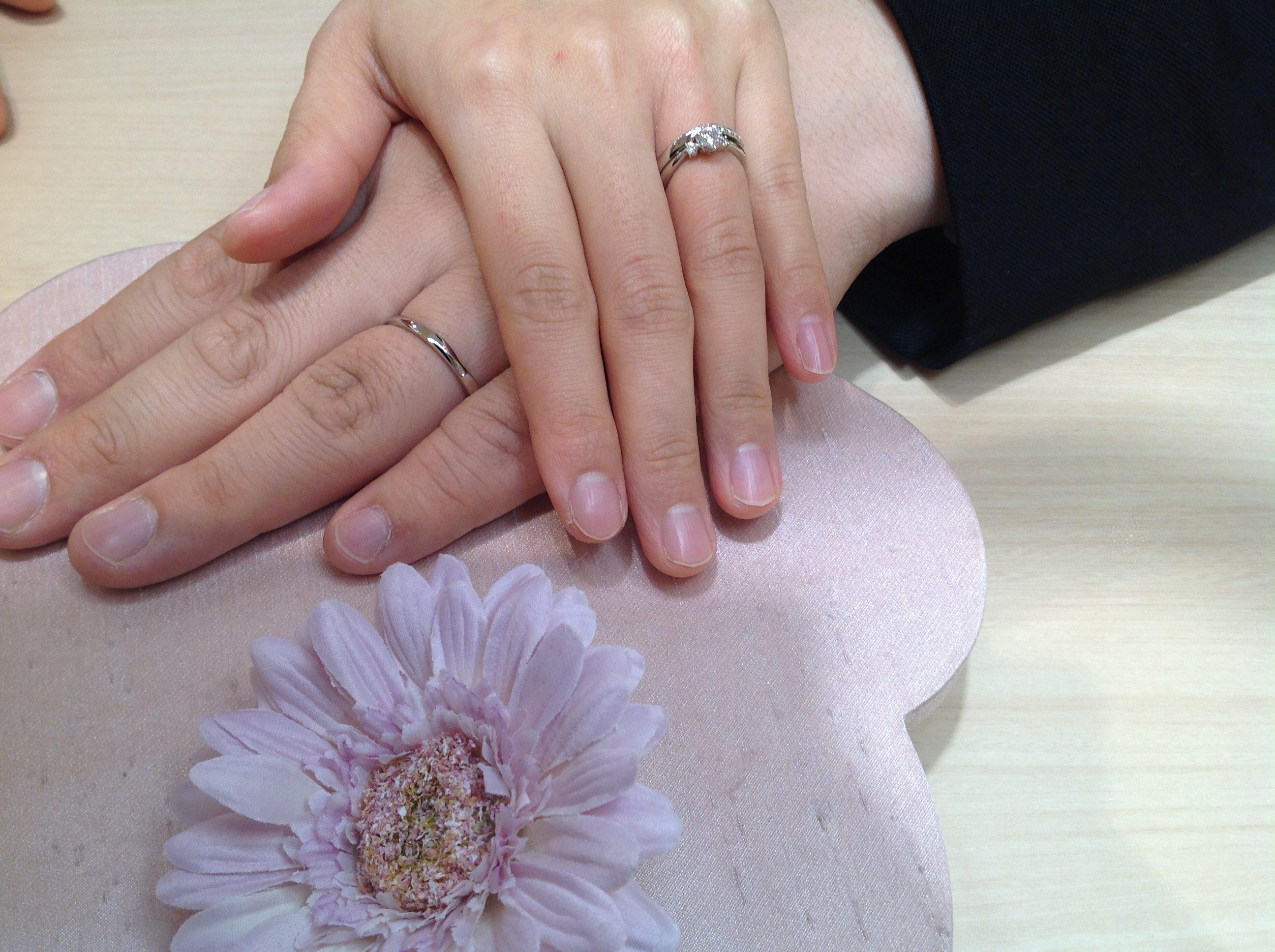 指や手がきれいに見えるデザイン♪のイメージ