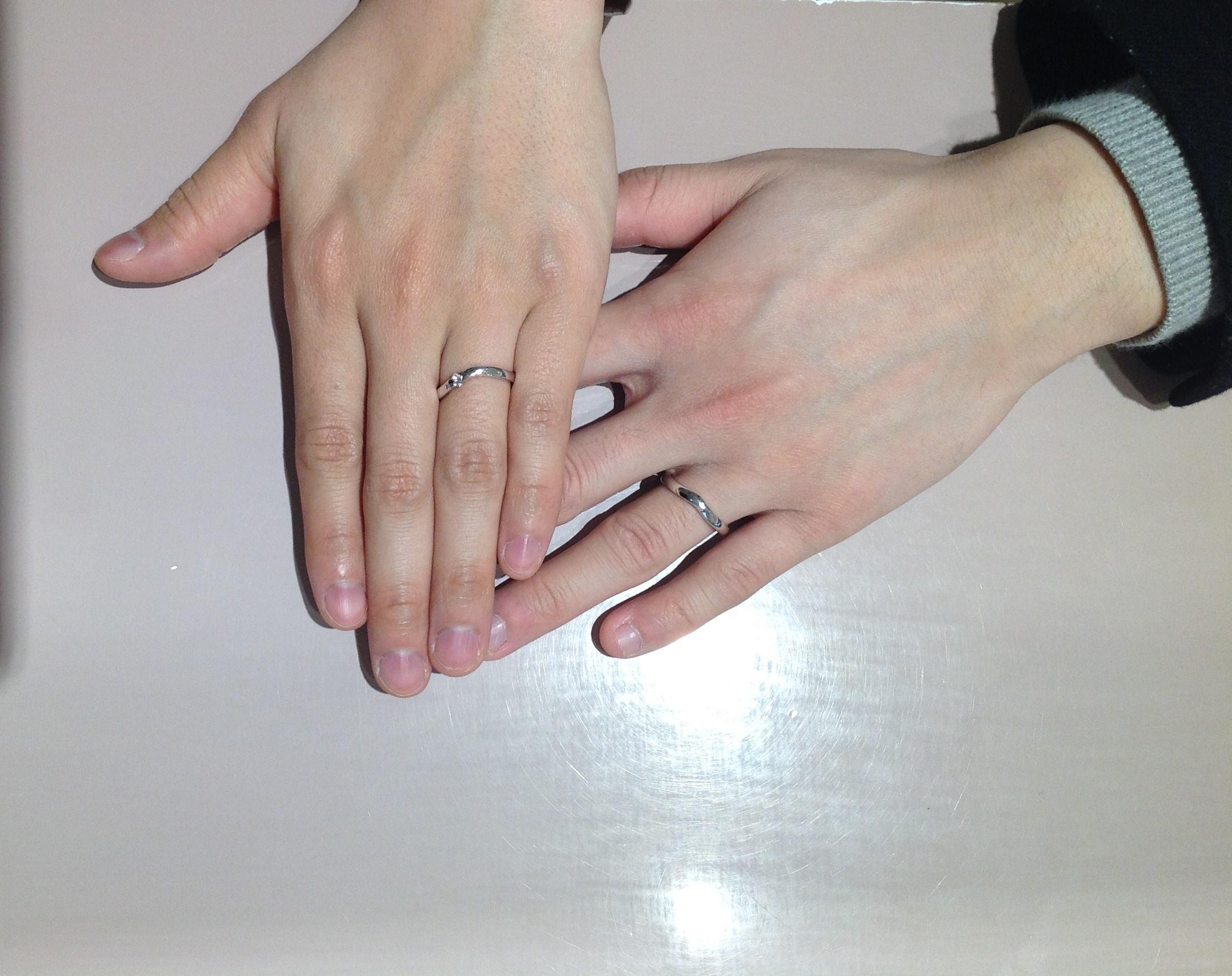 素敵な指輪と出会うことが出来ましたのイメージ