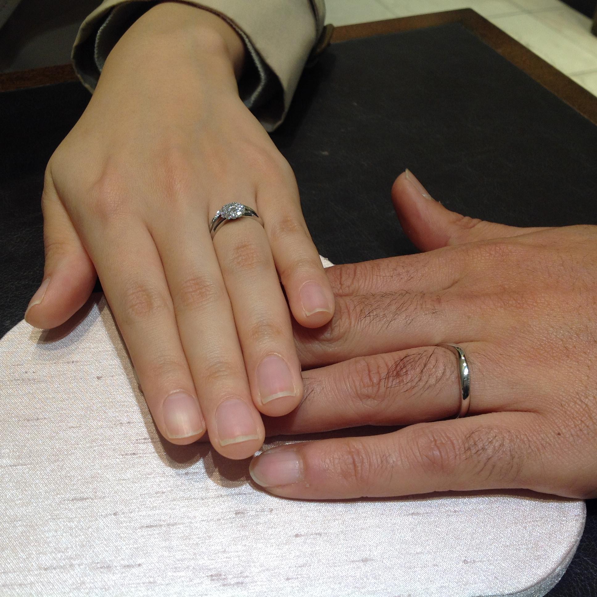 とても気に入った指輪に出会うことが出来ました♪のイメージ