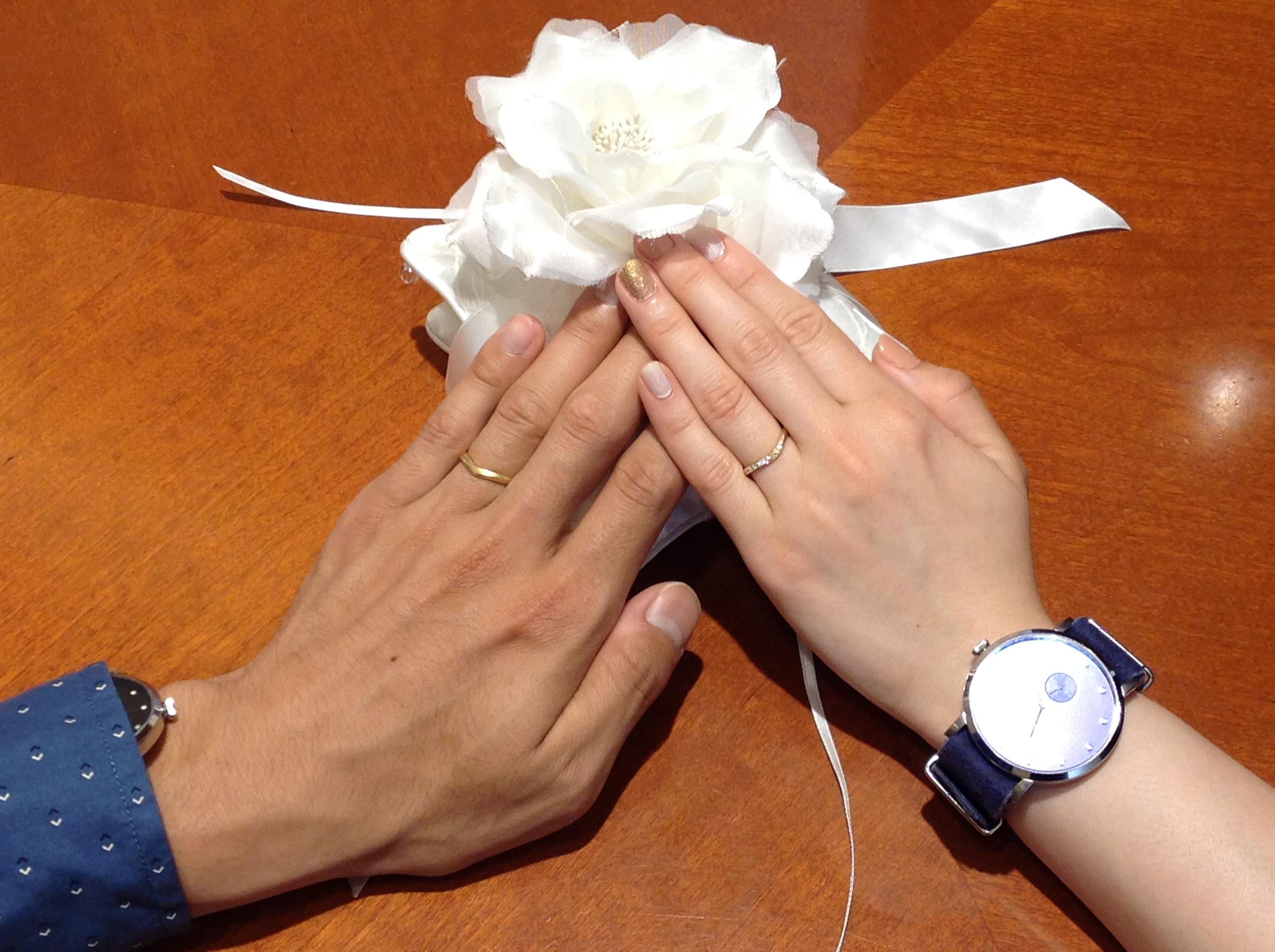 ステキな指環に出会えました!のイメージ