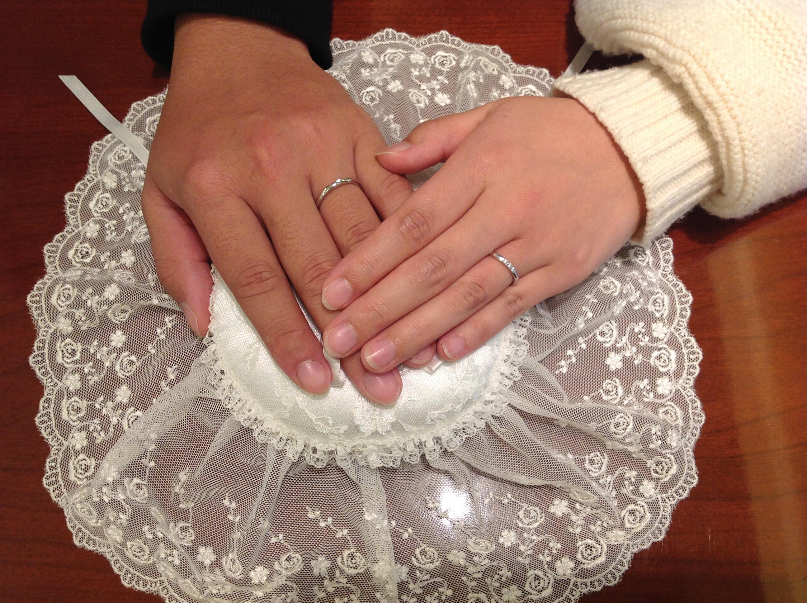 私たちらしい指輪を選ぶことができましたのイメージ