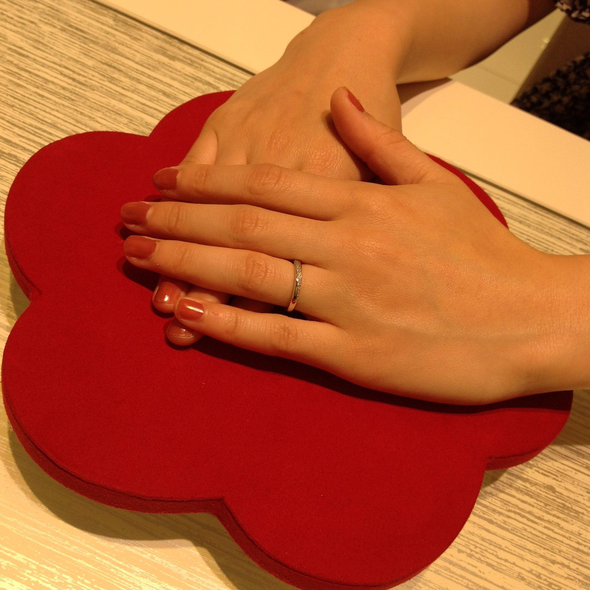 指輪のつけやすさがとても良かったです!のイメージ