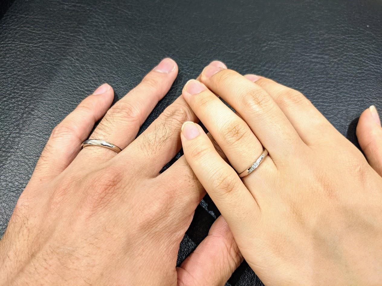 とても楽しく指輪を決めることができました。のイメージ