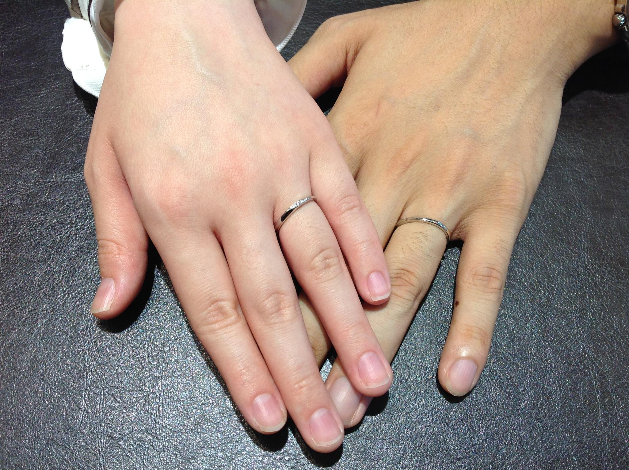 良い指輪をお迎えできて嬉しいです。のイメージ