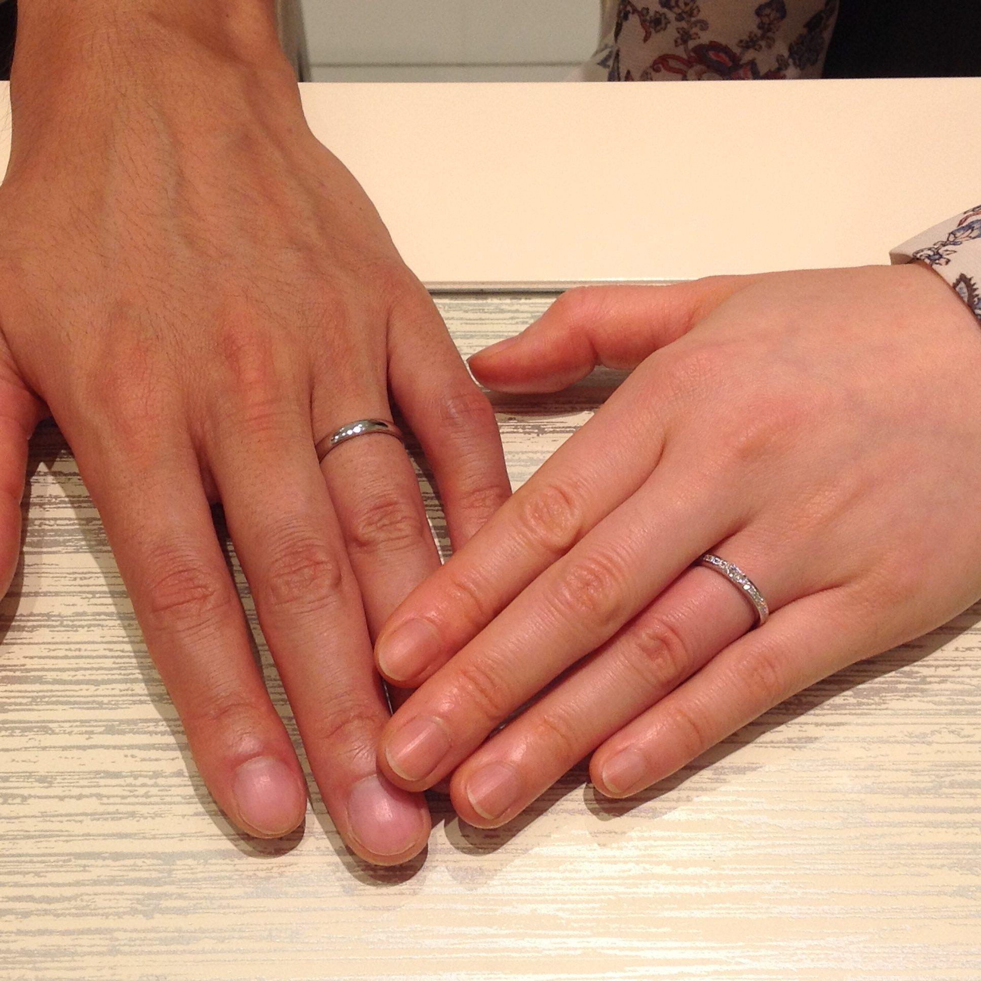 とても楽しく指輪選びができました。のイメージ